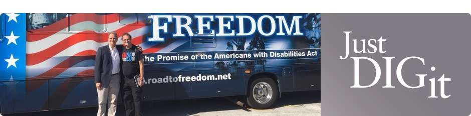 The Road To Freedom Tour Bus