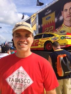 Matt at NASCAR