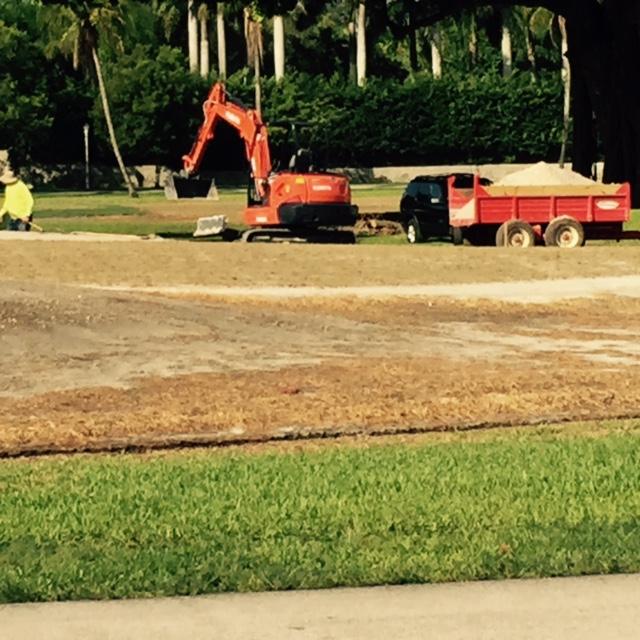 noisy orange bulldozer