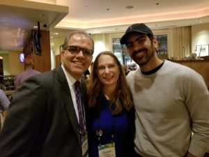 Deaf Model and Dancer Nyle DiMarco, Debbie and Matt