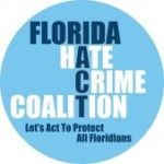 Logo for the Florida Hate Crime Coalition - Lets Act to Protect All Floridians